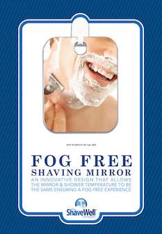 Fog Free Shaving Mirror