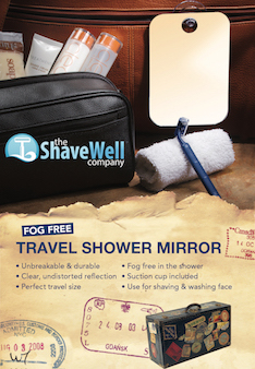 Travel Shower Mirror