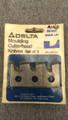 35-247 Moulding Cutterhead Knives set of 3 Door Lip