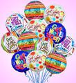 Dozen Get Well Balloon Bouquet