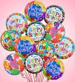 Dozen Happy Birthday Balloon Bouquet