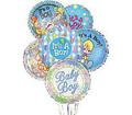 Half Dozen It's A Boy Balloon Bouquet