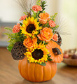 Fresh Pumpkin Floral Mix