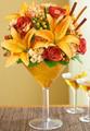 Autumn Martini Bouquet