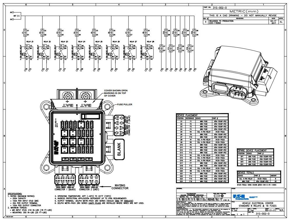 EATON 31S-002-0 Bussmann Series ssVEC Power Distribution