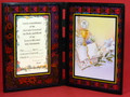 First Communion Glass Photo Plaque General
