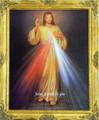 Divine Mercy 8 x 10 Gold Frame