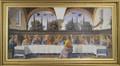 Last Supper 13 x 27 (Ghirlandaio) Gold Frame