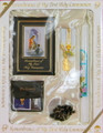 Communion Set Traditions Black with Candle