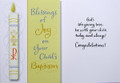 Blessings of Joy Baptism Card