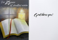 For 25 Years of Steadfast Service Priest Anniversary Card