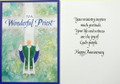 To A Wonderful Priest...Priest Anniversary Card