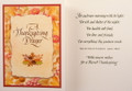 A Thanksgiving Prayer Greeting Card