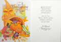 A Thanksgiving Prayer Cornucopia Greeting Card