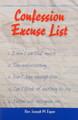 Confession Excuse List