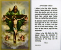 Apostles Creed Laminated Holy Card