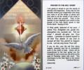 Prayer to the Holy Spirit Laminated Holy Card