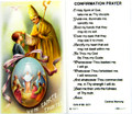 Confirmation Prayer Boy Laminated Holy Card
