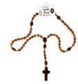 Jujube Wood 8mm Rosary