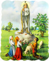 Our Lady of Fatima Wood Plaque