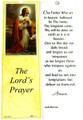 Lord's Prayer Laminated Bookmark with Tassel