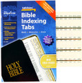 Mini Gold-Edged Bible Indexing Tabs
