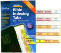 Rainbow Colored Bible Indexing Tabs