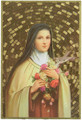 St Therese Mosaic Wall Plaque