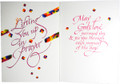 Lifting You Up In Prayer Encouragement Bookmark Card