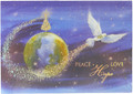 Dove and Earth Christmas Cards