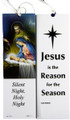 Christmas Bookmark Silent Night, Holy Night