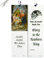Glory to the Newborn King Laminated Bookmark