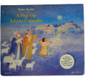 Nativity Scene Religious Pop-Up Advent Calendar with Companion Booklet