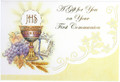 A Gift for You First Communion Money Holder Card