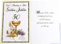 God's Blessings On Your Golden Jubilee