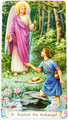 St Raphael The Archangel Paper Holy Card