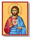 Sacred Heart 8 x 10 Icon