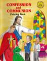 Confession and Communion Coloring Book (St Joseph Coloring Books)