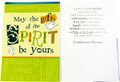 May the Gifts of the Spirit Be Yours Confirmation Card