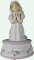 First Communion Girl Musical Figurine 40069