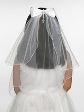 First Holy Communion Veil Style - Jessica