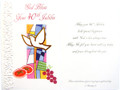 God Bless Your 40th Jubilee Greeting Card