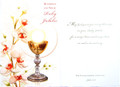 Blessings On Your Ruby Jubilee Greeting Card