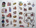 Stickers from Praying the Rosary