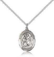 St John the Baptist Patron Saint medal