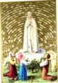 Our Lady of Fatima Wall Plaque