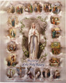 Mysteries of the Rosary Framing Print