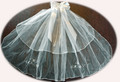 Two Tier First Holy Communion Veil