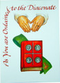 As You Are Ordained To The Diaconate Greeting Card