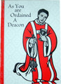 As You Are Ordained A Deacon Greeting Card